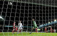 Leeds United's Mateusz Klich scores his side's fourth goal <br /> <br /> Photographer Alex Dodd/CameraSport<br /> <br /> The EFL Sky Bet Championship - Leeds United v Middlesbrough - Saturday 30th November 2019 - Elland Road - Leeds<br /> <br /> World Copyright © 2019 CameraSport. All rights reserved. 43 Linden Ave. Countesthorpe. Leicester. England. LE8 5PG - Tel: +44 (0) 116 277 4147 - admin@camerasport.com - www.camerasport.com