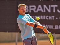 Netherlands, Rotterdam August 08, 2015, Tennis,  National Junior Championships, NJK, TV Victoria, Bart Stevens<br /> Photo: Tennisimages/Henk Koster