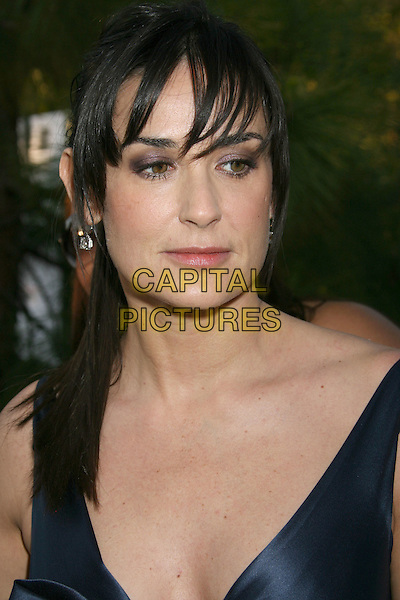 DEMI MOORE.7th Annual Chrysalis Butterfly Ball held at a Private Residence, Los Angeles, California, USA,.31 May 2008..portrait headshot ponytail fringe.CAP/ADM/MJ.©Michael Jade/Admedia/Capital Pictures