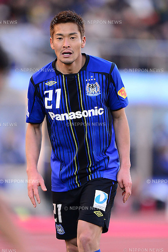 Akira Kaji (Gamba), JANUARY 1, 2013 - Football / Soccer : The 92th Emperor's Cup Final match between Gamba Osaka 0-1 Kashiwa Reysol at National Stadium, in Tokyo, Japan. (Photo by AFLO)