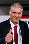 Iran Head Coach Carlos Quieroz reacts prior to  the AFC Asian Cup UAE 2019 Semi Finals match between I.R. Iran (IRN) and Japan (JPN) at Hazza Bin Zayed Stadium  on 28 January 2019 in Al Alin, United Arab Emirates. Photo by Marcio Rodrigo Machado / Power Sport Images