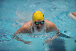 26 MAR 2011: Senior April Whitley of Emory competes in the 200 yard breaststroke during the Division III Menís and Womenís Swimming and Diving Championship held at Allan Jones Aquatic Center in Knoxville, TN. Whitley finished with a time of 2:14.62 to win the national title. David Weinhold/NCAA Photos