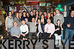 39 AGAIN: Kerry Griffin, Rock Park Avenue, Tralee (seated 4th left) got a big surprise when family and friends gathered to celebrate her 40th birthday at the Greyhound bar on Friday.