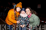 Bernie, Kelly and Sarah Hayes from Tralee at the firework display in Denny St on New Years Eve.