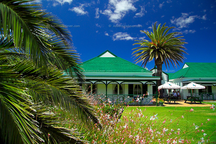 GANSBAAI, SOUTH AFRICA, DECEMBER 2004. The 19th Hole lodge in Hermanus is run by Sandy Mc Farlane. Brian Mc Farlane organises Great White Shark cage diving tours out of Gansbaai. Gansbaai is one of the best places in the world to see the Great white in its natural habitat. Photo by Frits Meyst/Adventure4ever.com