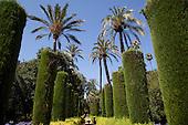 Gardens of the Real Alcazar, Seville, Spain