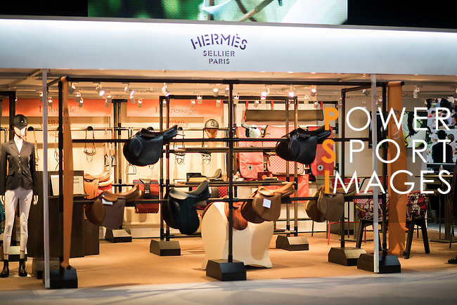 Booths at the Prestige Village of the Longines Masters of Hong Kong 2017 on 12 February 2017 at the AsiaWorld Expo in Hong Kong, China. Photo by Victor Fraile / Power Sport Images