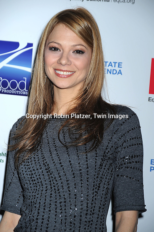 """actress Tamara Braun..posing for photographers at """"Defying Inequality"""" The Broadway Concert on February 23, 2009 at The Gershwin Theatre in New York City. The concert was a benefit for Equal Rights for gay people to be able to marry. ....Robin Platzer, Twin Images"""