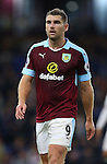 Sam Vokes of Burnley during the Premier League match at Turf Moor Stadium, Burnley. Picture date: September 26th, 2016. Pic Simon Bellis/Sportimage