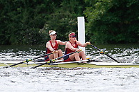Race: 181 S2x Quarter-Final - Tyne RC vs Oxford Brookes<br /> <br /> Henley Women's Regatta 2017<br /> <br /> To purchase this photo, or to see pricing information for Prints and Downloads, click the blue 'Add to Cart' button at the top-right of the page.
