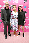 "Jerry Seinfeld, Jessica Seinfeld with daughter attending the Broadway Opening Night Performance of  ""Mean Girls"" at the August Wilson Theatre Theatre on April 8, 2018 in New York City."