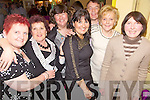 Helping Hands - Having a wonderful time while checking answers and helping out at the Pub Quiz held in aid of Friends of Ward 2D of Cork University Hospital in Quane's Bar Blennerville on Saturday night were l/r Helen Donavon, Christina Cregan, Joan Devane, Sarah Conway, Denis Breen, Betty O'Sullivan and Beatrice O'Sullivan................................................................................................................................................................................................................................................................................................... ............