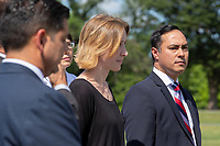 United States Representative Joaquin Castro (Democrat of Texas) attends a press conference discussing the need for better humanitarian rights for refugees at the United States border in Washington D.C. on June 12, 2019.<br /> <br /> Credit: Stefani Reynolds / CNP/AdMedia