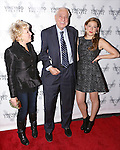 Bette Midler, Garry Marshall and Sophie von Haselberg attends the Off-Broadway opening Night Performance After Party for 'Billy & Ray' at the Vineyard Theatre on October 20, 2014 in New York City.