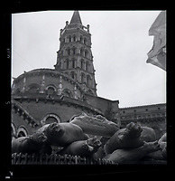 Foire au salé à Saint-Sernin (1964)