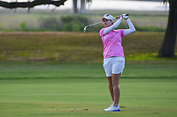 Karrie Webb (AUS) watches her approach shot on 10 during round 2 of the 2019 US Women's Open, Charleston Country Club, Charleston, South Carolina,  USA. 5/31/2019.<br /> Picture: Golffile | Ken Murray<br /> <br /> All photo usage must carry mandatory copyright credit (© Golffile | Ken Murray)