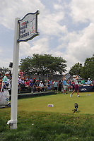Catriona Matthew (SCT) watches her tee shot on 1 during Saturday's third round of the 72nd U.S. Women's Open Championship, at Trump National Golf Club, Bedminster, New Jersey. 7/15/2017.<br /> Picture: Golffile | Ken Murray<br /> <br /> <br /> All photo usage must carry mandatory copyright credit (&copy; Golffile | Ken Murray)