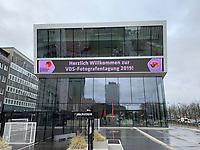 Deutsches Fu&szlig;ballmuseum in Dortmund als Versammlungsort des Verbands Deutscher Sportfotografen - 08.02.2019: Deutsches Fu&szlig;ballmuseum in Dortmund<br /> DISCLAIMER: DFL regulations prohibit any use of photographs as image sequences and/or quasi-video.
