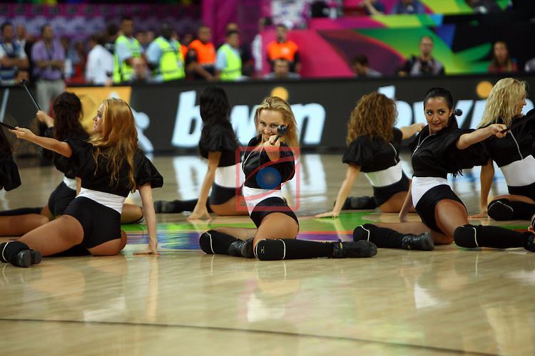 2014 FIBA Basketball World Cup-Round of 16.<br /> Dominican Republic vs Slovenia: 61-71.<br /> Khimki Dancers.