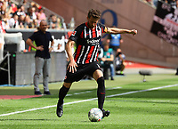 David Abraham (Eintracht Frankfurt) - 18.08.2019: Eintracht Frankfurt vs. TSG 1899 Hoffenheim, Commerzbank Arena, 1. Spieltag Saison 2019/20 DISCLAIMER: DFL regulations prohibit any use of photographs as image sequences and/or quasi-video.