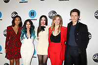 LOS ANGELES - FEB 5:  Sydney Park, Janel Parrish, Sofia Carson, Sasha Pieterse, Graeme King at the Disney ABC Television Winter Press Tour Photo Call at the Langham Huntington Hotel on February 5, 2019 in Pasadena, CA