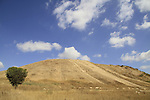 Israel, Tel Gamma in the Northern Negev, site of the Canaanite city Yurzah