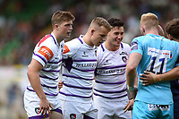 Leicester Tigers fowards look on. Premiership Rugby 7s (Day 2) on July 28, 2018 at Franklin's Gardens in Northampton, England. Photo by: Patrick Khachfe / Onside Images