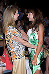 31.08.2012. Celebrities attending the Mahou Collection 1960-2012 by Elio Berhanyer  fashion show during the Mercedes-Benz Fashion Week Madrid Spring/Summer 2013 at Ifema. In the image (L-R) Paquita Torres and Mari Angeles Grajal (Alterphotos/Marta Gonzalez)