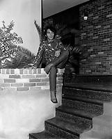 Tony Roman AU club le vieux bardeau<br /> , Entre 2 et le 8 octobre 1967<br /> <br /> Photographe : Photo Moderne<br /> <br /> - Agence Quebec Presse