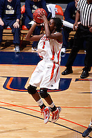 SAN ANTONIO , TX - NOVEMBER 7, 2009: The St. Edward's University Hilltoppers vs. The University of Texas At San Antonio Roadrunners Women's Basketball at the UTSA Convocation Center. (Photo by Jeff Huehn)