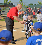 Cal Ripken, Jr. visits Bentonville youth baseball