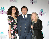 "PALM SPRINGS - JAN 3:  Jenny Slate, Jack Black, Jacki Weaver at the PSIFF ""The Polka King"" Screening at Camelot Theater on January 3, 2018 in Palm Springs, CA"