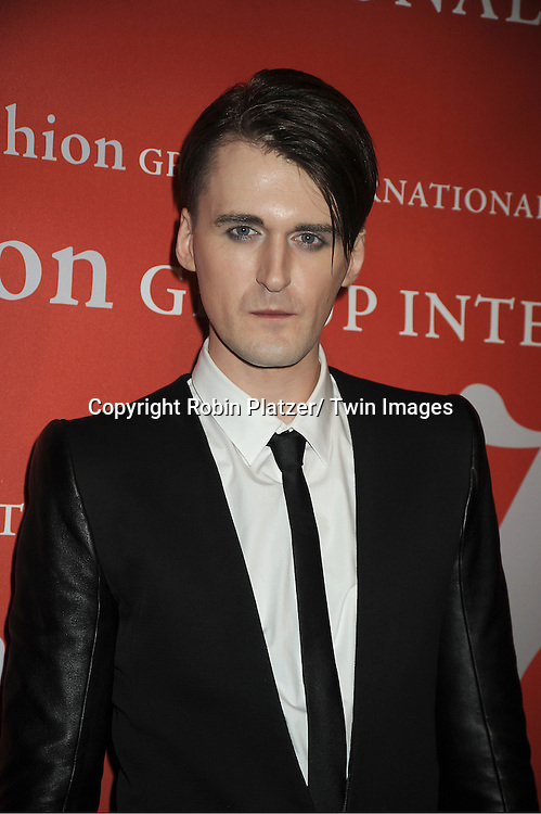 Gareth Pugh attends the Fashion Group International's 29th Annual  Night of Stars Gala on October 25, 2012 at Cipriani Wall Street in New York City.