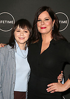 WEST HOLLYWOOD, CA - JANUARY 9: Emily Skeggs, Marcia Gay Harden, at the Lifetime Winter Movies Mixer at Studio 4 at The Andaz Hotel in West Hollywood, California on January 9, 2019. <br /> CAP/MPIFS<br /> &copy;MPIFS/Capital Pictures