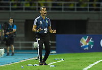 PEREIRA - COLOMBIA, 18-01-2020: Fernando Batista técnico de Argentina durante partido entre Colombia y Argentina por la fecha 1, grupo A, del CONMEBOL Preolímpico Colombia 2020 jugado en el estadio Hernán Ramírez Villegas de Pereira, Colombia. / Fernando Batista coach of Argentina during match against Colombia of the date 1, group A, for the CONMEBOL Pre-Olympic Tournament Colombia 2020 played at Hernan Ramirez Villegas stadium in Pereira, Colombia. Photo: VizzorImage / Julian Medina / Cont