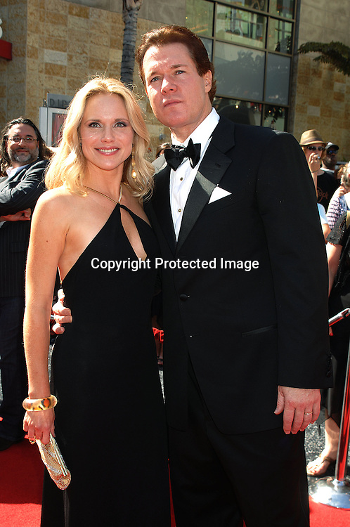Beth Chamberlin and Michael O'Leary..arriving at The 34th Annual Daytime Emmy Awards on ..June 15, 2007 at The Kodak Theatre in Hollywood, California. ..Robin Platzer, Twin Images......212-935-0770