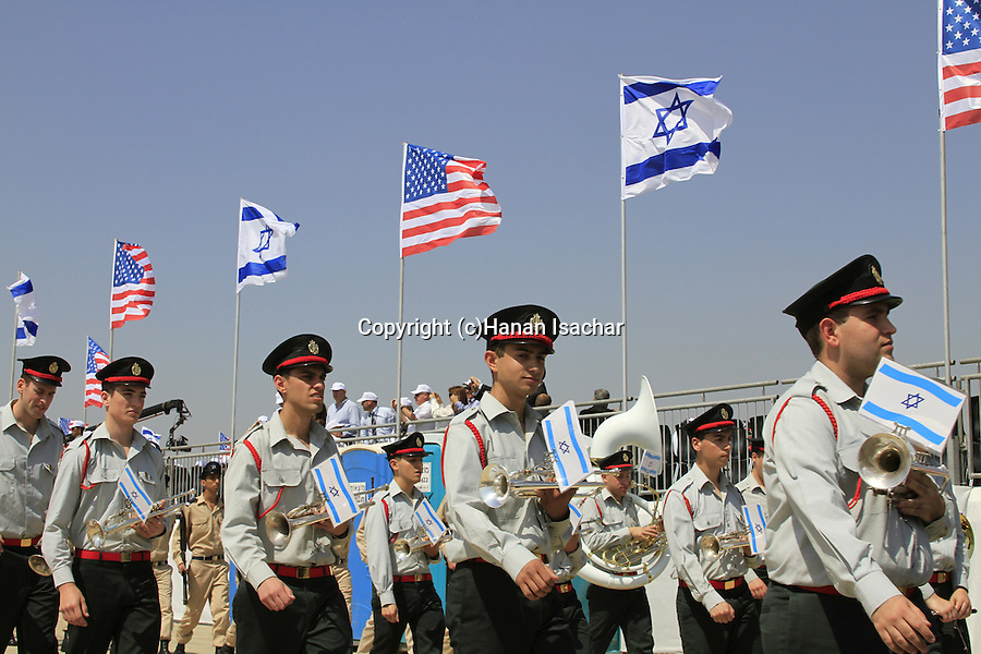 Guard of Honor to US President Obama at Ben Gurion Airport