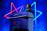 Washington, DC - March 24, 2019: Mayor Muriel Bowser of the District of Columbia welcomes attendees of the AIPAC Policy Conference at the Washington Convention Center in Washington, DC, March 24, 2019.  (Photo by Don Baxter/Media Images International)