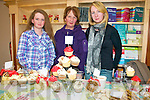Attending the Annual Christmas Craft Fair held at Buds Family Resource Centre on Sunday were Helen O'Callaghan, Kathleen Browne & Tina Browne.