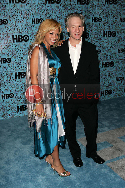 Bill Mahr and friend<br />At the HBO Emmy After Party. Pacific Design Center,Los Angeles, CA. 09-18-05<br />Dave Edwards/DailyCeleb.Com 818-249-4998