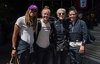 San Jose, CA - May 13, 2019: The USWNT travels to St. Louis.