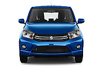 Car photography straight front view of a 2015 Suzuki CELERIO Grand Luxe Xtra 5 Door Hatchback Front View