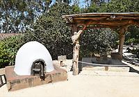 Outdoor Kitchen at Serrano Adobe at Heritage Hill Historical Park