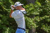 Billy Horschel (USA) watches his tee shot on 9 during 3rd round of the 100th PGA Championship at Bellerive Country Club, St. Louis, Missouri. 8/11/2018.<br /> Picture: Golffile | Ken Murray<br /> <br /> All photo usage must carry mandatory copyright credit (&copy; Golffile | Ken Murray)