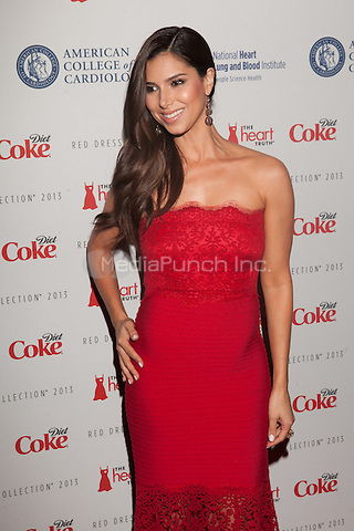 NEW YORK, NY - FEBRUARY 6: Roselyn Sanchez in Tadashi Shoji attends The Heart Truth Red Dress Collection 2013 Fashion Show on February 6, 2013 in New York City. © Diego Corredor/MediaPunch Inc. ...