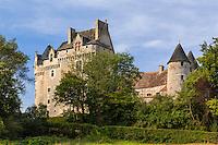 France, région du Berry,  Indre (36), parc naturel régional de la Brenne, Rosnay, hameau du Bouchet, château du Bouchet // France, Indre, Regional Natural Park of Brenne, Rosnay, hamlet of Bouchet, Bouchet castle