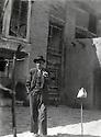 Iran 1945<br /> Mohammed Agha Ghassemlou dans le quartier de Khan Baba Khan a Rezaieh  <br /> Iran 1945<br /> Mohammed Agha Ghassemlou in the neighbourhood of Khan Baba Khan  in Rezaieh