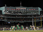 Football returns to Fenway Park for the first time in 47 years as Notre Dame hosts Boston College in their NCAA on Saturday, November 21, 2015. Photo by Christopher Evans