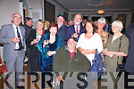Pictured at the Gala Dinner in the Royal Hotel, Valentia on Saturday night last were front Sean Buil, back l-r; Tom Horgan, Nita Guiney, Mary Horgan, Alan Ryan Hall, Richard Williams, Liline Buil, Irene Rogers & Margaret O'Shea.