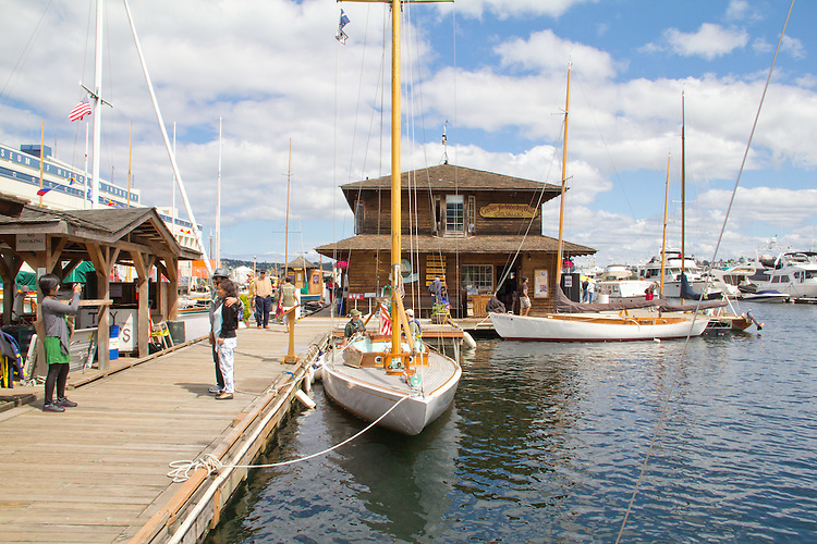 Seattle, Center for Wooden Boats, Lake Union, South Lake Union Park, restored classic and historic boats,